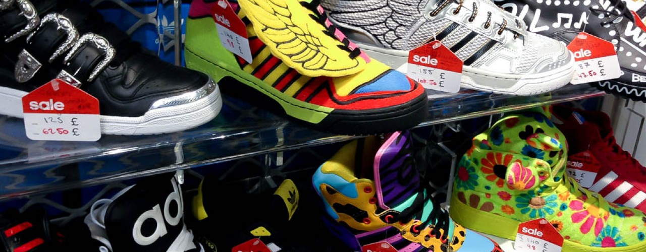 Jeremy Scott at adidas in London. Photo by alphacityguides.