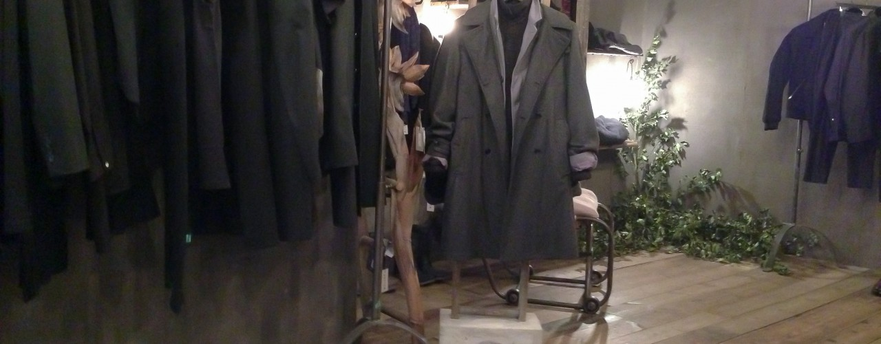 Menswear and accessories at Hostem in London. Photo by alphacityguides.
