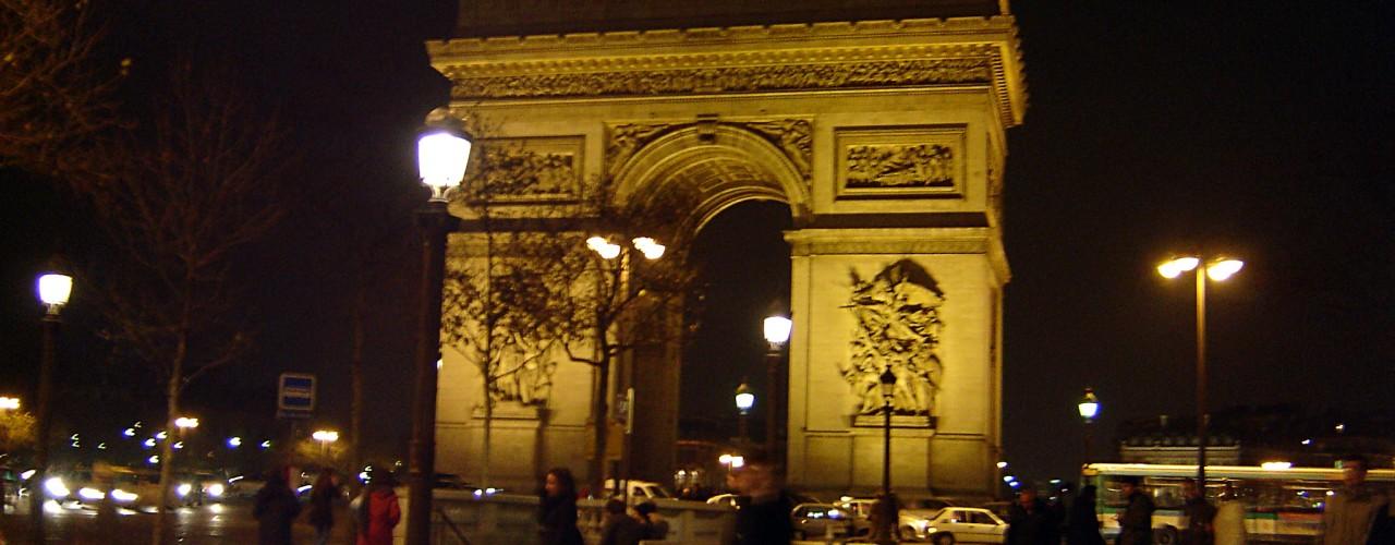 Arc de Triomphe in Paris. Photo by alphacityguides.