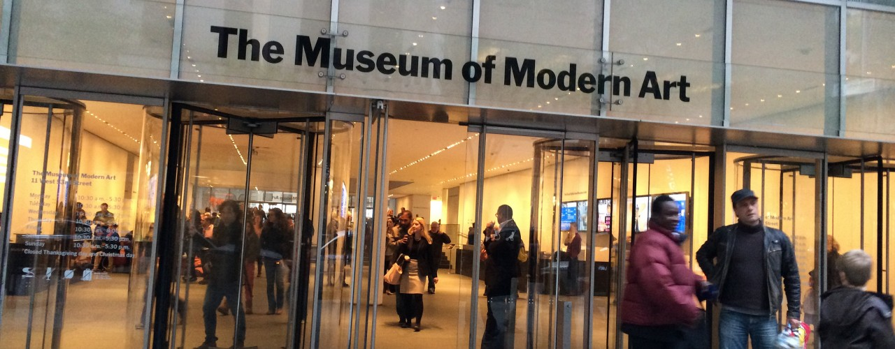 Museum of Modern Art (MoMA) in New York. Photo by alphacityguides.