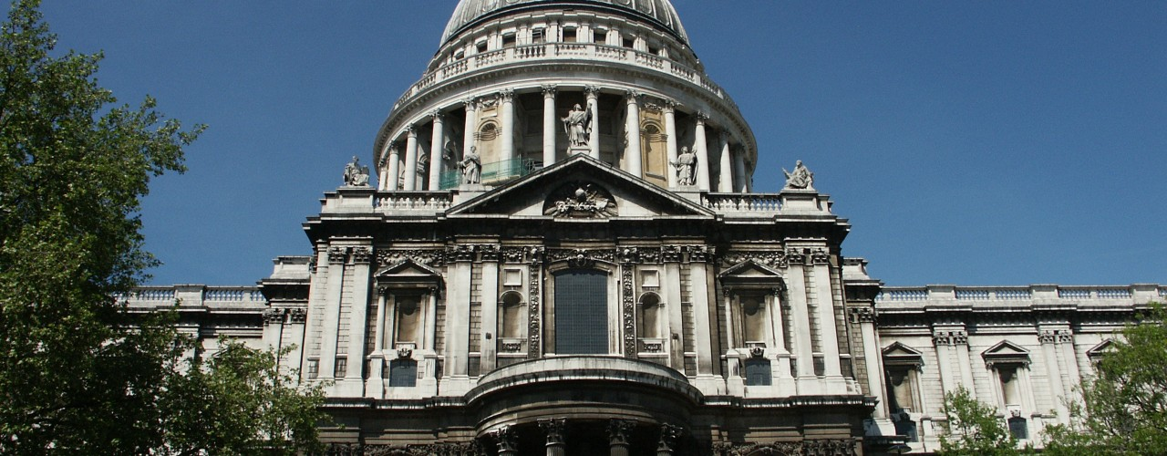 "St. Paul's cathedral in London. Photo by <a href=""http://www.flickr.com/photos/bruchez/"">Olivier Bruchez</a>"