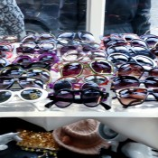 Sunglasses at Goldsmith Vintage in London. Photo by alphacityguides.