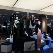 Fashion display at Bloomingdale's in New York. Photo by alphacityguides.