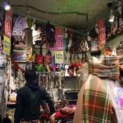 Japanese fashion backpacks at Spinns Harajuku Tokyo.