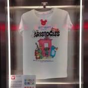 Designer Disney t-shirt inside Uniqlo in Tokyo. Photo by alphacityguides.