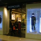Moncler at the IFC Mall in Hong Kong. Photo by alphacityguides.