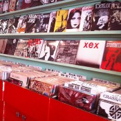 Records at Born Bad in Paris. Photo by alphacityguides.
