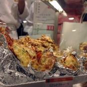 Lobster tails at Isetan Food Hall.