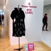 Vivienne Westwood Red Label at Parco in Tokyo. Photo by alphacityguides.
