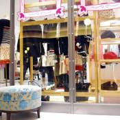 Fashion display inside Isetan