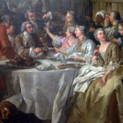The Hunt Lunch by Jean François de Troy