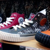 Converse sneakers at Asbee in Tokyo. Photo by alphacityguides.
