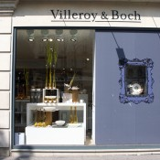 Store front at Villeroy & Boch in Paris. Photo by alphacityguides.