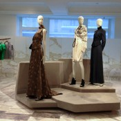 High-end fashion display at Selfridges & Co. in London. Photo by alphacityguides.