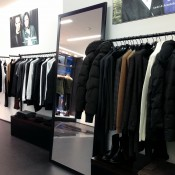 Fashion display at The Kooples in London. Photo by alphacityguides.