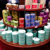 Biscuits and cookies at Fortnum and Mason in London. Photo by alphacityguides.
