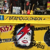 Store front at B Famous in London. Photo by alphacityguides.