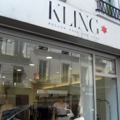Store front at Kling in Paris. Photo by alphacityguides.
