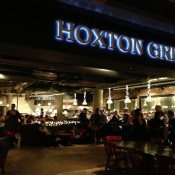 The Hoxton Grill Restaurant in London. Photo by alphacityguides.