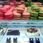 Macarons at Fortnum and Mason in London. Photo by alphacityguides.