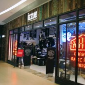 izzue menswear at The One Mall in Hong Kong. Photo by alphacityguides.