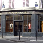 Store front at Isabel Marant in Paris. Photo by alphacityguides.