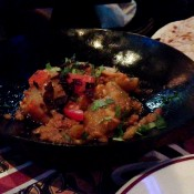 Saag Aloo at Tayyabs in London. Photo by alphacityguides.