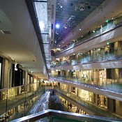 Inside Omotesando Hills department store in Tokyo. Photo by alphacityguides.
