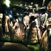 The Pleasure Garden fashion exhibit at the Museum of London. Photo by alphacityguides.