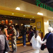 Busy lunch at Paisano's Pizzeria & Sub Shop in Hong Kong. Photo by alphacityguides.