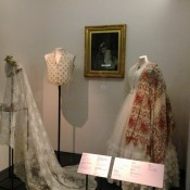 Historic fashion exhibit at the V & A Museum in London. Photo by alphacityguides.