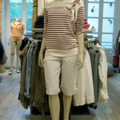 Outfit at Aigle in Paris. Photo by alphacityguides.