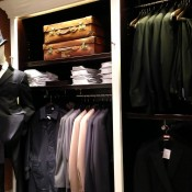 Menswear at Hackett in London. Photo by alphacityguides.