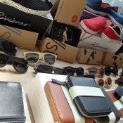 Fashion accessories at Ofr in Paris. Photo by alphacityguides.