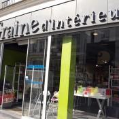 Store front at Graine d'intérieur in Paris. Photo by alphacityguides.