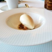 Chai ice cream at Per Se in New York. Photo by alphacityguides.