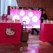 Hello Kitty at Seibu in Hong Kong. Photo by alphacityguides.