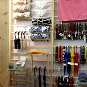 Accessories display at Opening Ceremony in London. Photo by alphacityguides.