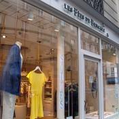 Store front at Les Fées de Bengale in Paris. Photo by alphacityguides.