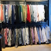 Menswear at INA NoHo in New York. Photo by alphacityguides.