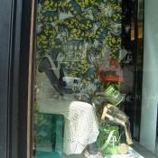 Window at Bimba & Lola in Paris. Photo by alphacityguides.