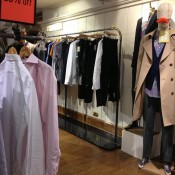 Men's fashion display at Liberty London. Photo by alphacityguides.