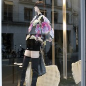 Window at Chanel in Paris. Photo by alphacityguides.