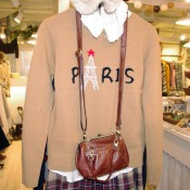 Paris sweater at Lost and Found in Tokyo. Photo by alphacityguides.