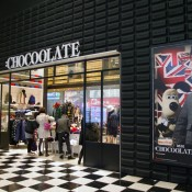 Chocolate inside The One Mall in Hong Kong. Photo by alphacityguides.