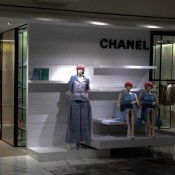 Chanel fashion display at Selfridges & Co. in London. Photo by alphacityguides.