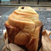 Chocolate croissant at The Albion in London. Photo by alphacityguides.