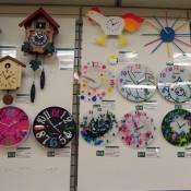 Wall of Clocks at Tokyu Hands