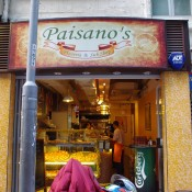 Paisano's Pizzeria & Sub Shop in Hong Kong. Photo by alphacityguides.