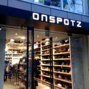 Store front at Onspotz in Tokyo. Photo by alphacityguides.